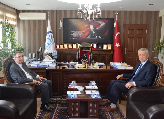 Cangül'den Aksaray SGK İl Müdürlüğüne ziyaret