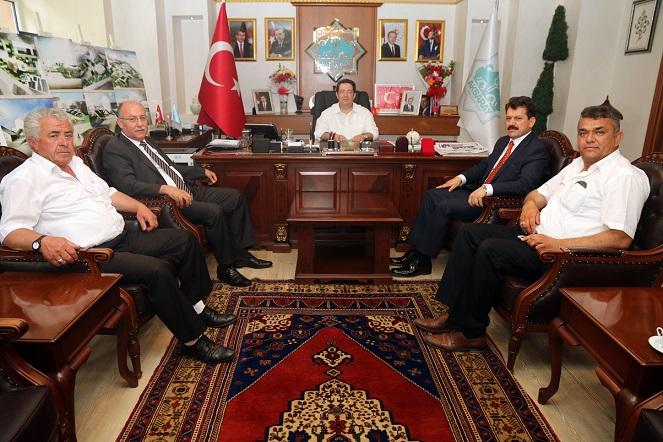 Adana ve Mersin Başsavcıları Yazgı'yı Ziyaret Etti