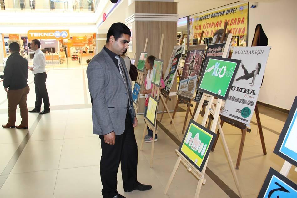 Aksaray'da ilk kez resfebe sergisi açıldı