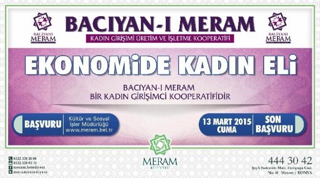 """""""Bacıyan-ı Meram"""" Girişimcilik Kooperatifi Kuruldu"""