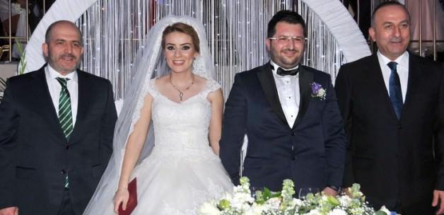 Bakan Çavuşoğlu nikah şahitliği yaptı