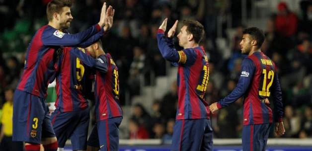 Barça'dan yarım düzine gol!