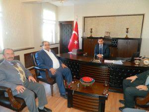 Başkan Koçak'tan Kaymakam Duruk'a Ziyaret