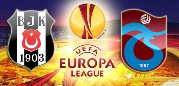 Beşiktaş, Trabzonspor'un UEFA Kupası rakipleri