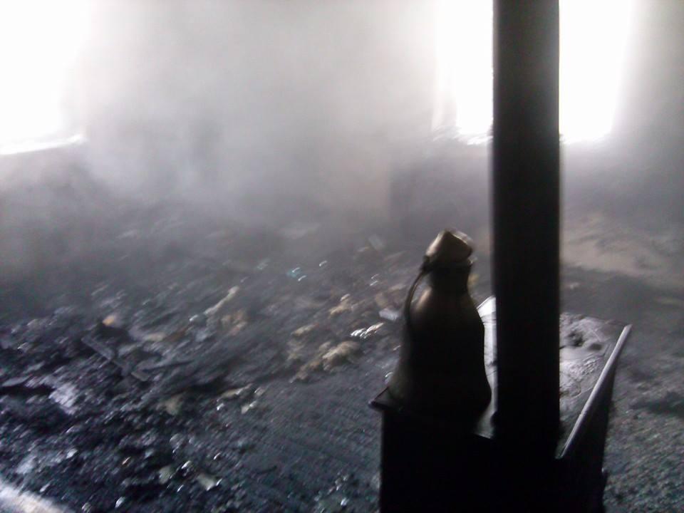Beyşehir Yeni Mahallede Ev Yangını