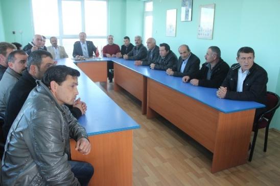 Beyşehir Ziraat Odası'nda Görev Dağılımı Gerçekleşti