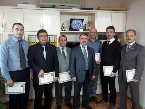 Beyşehir'de Başarılı Tarım Personeli Ödüllendirildi