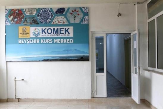Beyşehir'de KOMEK açılıyor!