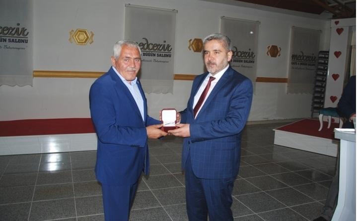Eskil MYO'nun anahtarı Rektör Şahin'e teslim edildi