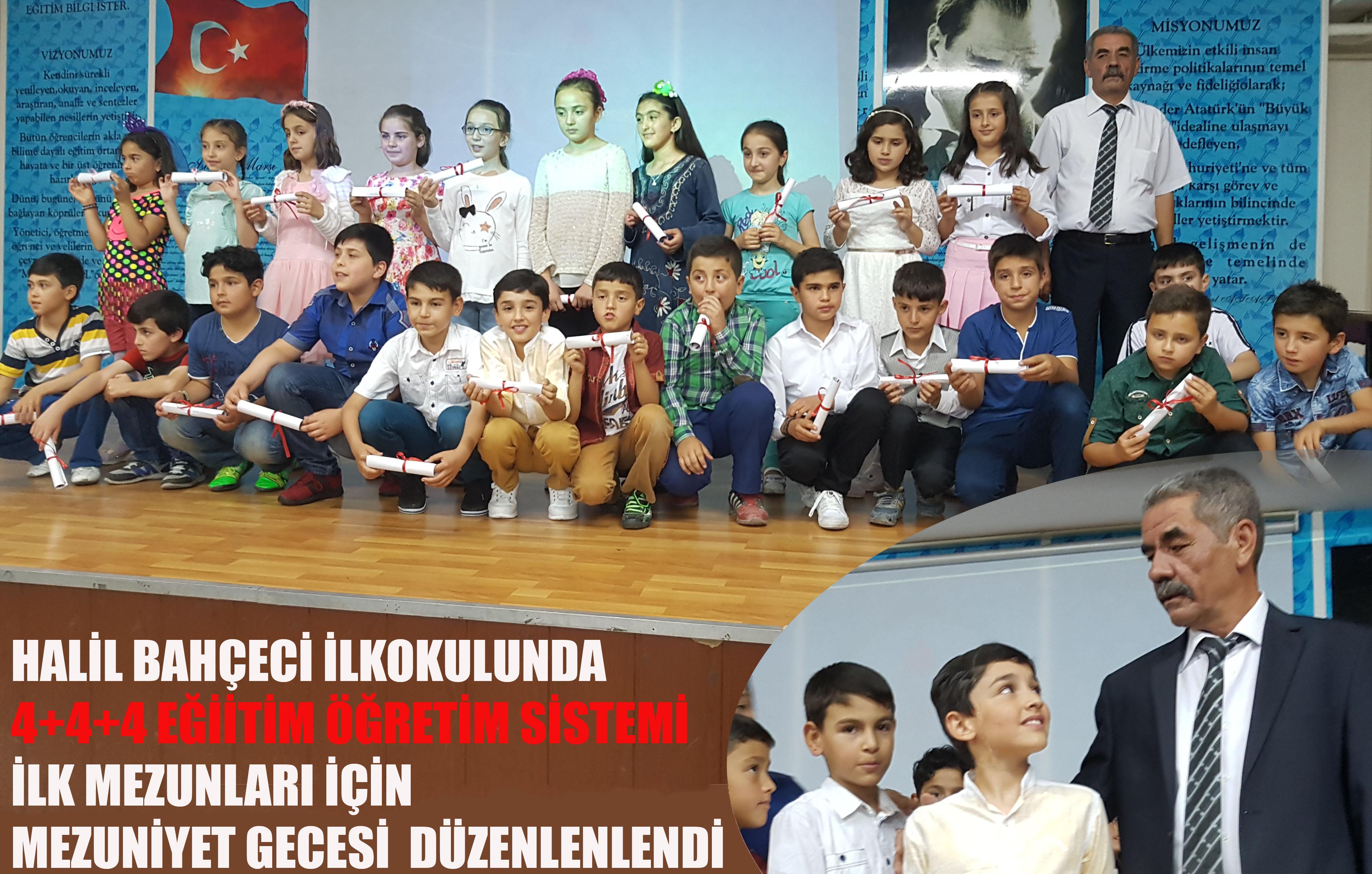 Halil Bahçeci İlkokulu'nda mezuniyet coşkusu!
