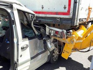 Eskilli Şoför Kaza Yaptı 1 Ağır Yaralı