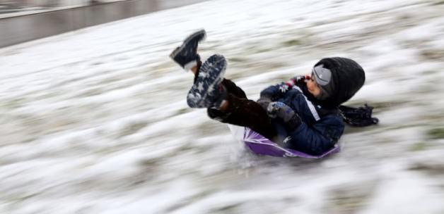 Bodrum'a 12 yıl sonra kar yağdı