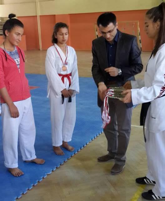 Taekwondo Takımı Kaymakam İlhan ile Yeniden Hayat Buldu