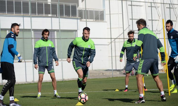 Konyaspor'da Medipol  Başakşehir  hazırlıkları  tamamladı