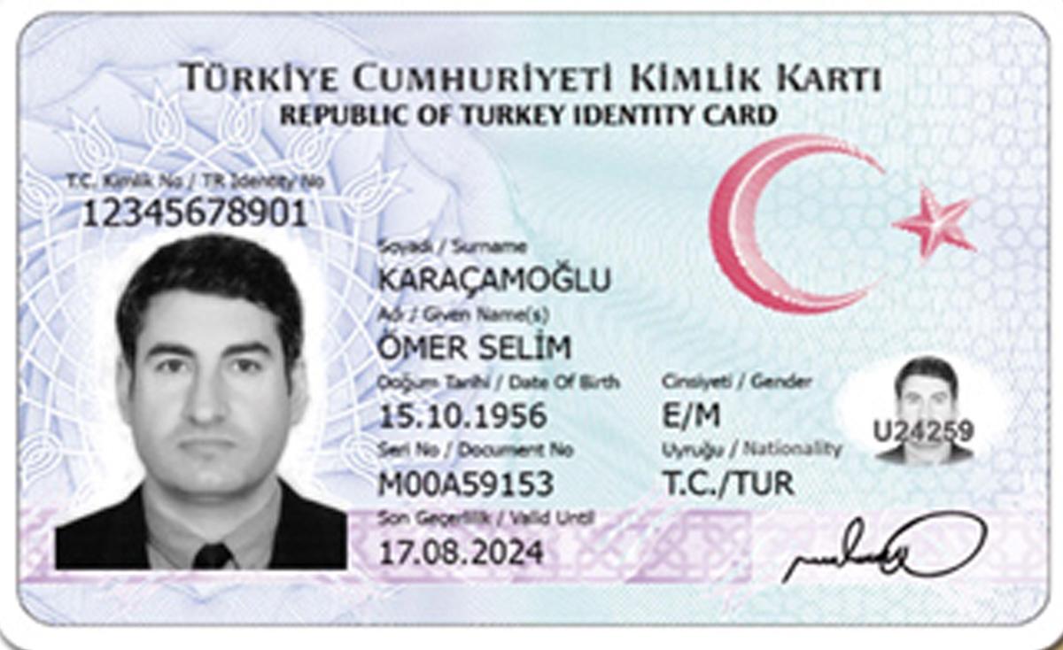 Aksaray'da Yeni kimlik kartları 1Kasım´dan itibaren verilecek