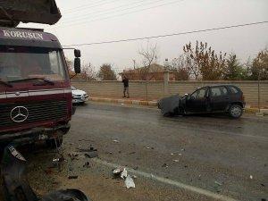 Eşmekaya'da  Korkunç Kaza! 1 kişi Öldü!