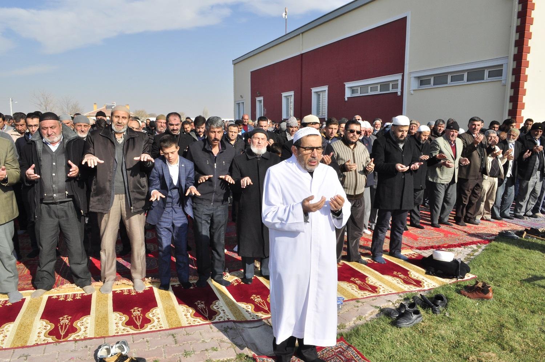 Hayıroğlu'nda Yağmur Duası Yapıldı