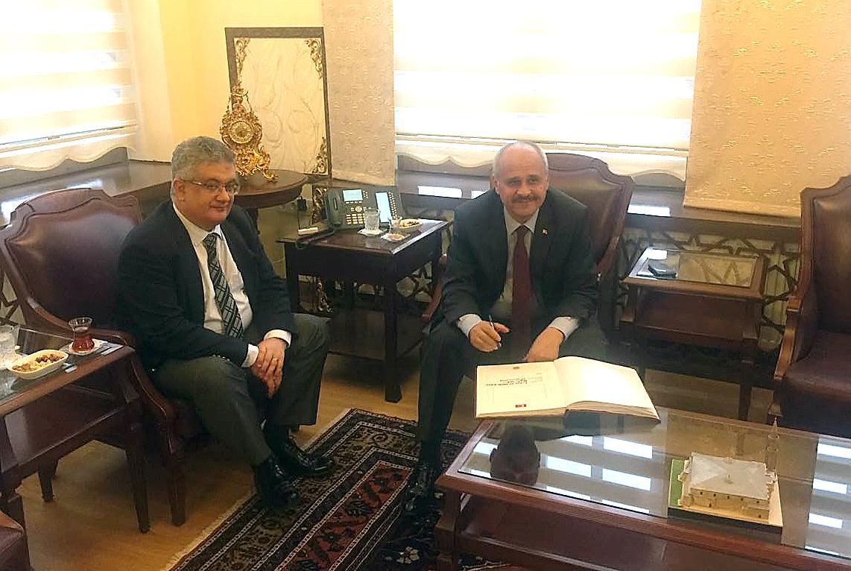 Niğde Valisi Ertan Peynircioğlu'ndan Vali Pekmez'e ziyaret!