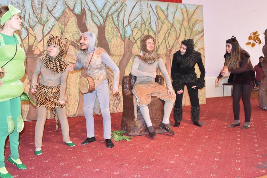 Eskil Belediyesi'nden Çocuklara Tiyatro Şöleni!