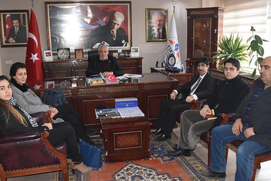 Aksaray Halk Sağlığı Müdürü'nden Başkan Alçay'a Ziyaret…