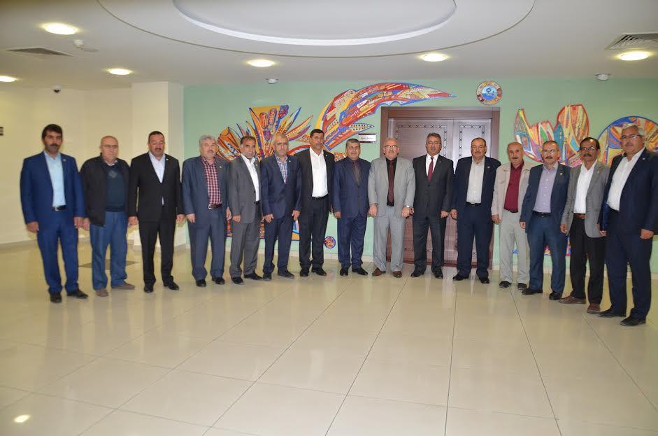 Ahmet Küçük 'ten Başkan Hançerli 'ye Ziyaret!
