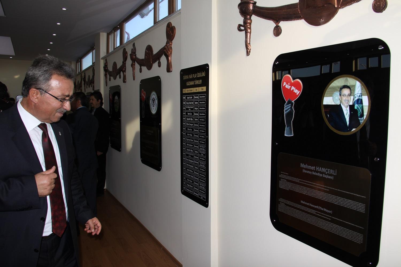 Dünya'nın İlk ve Tek Fair Play Müzesine Yoğun İlgi!