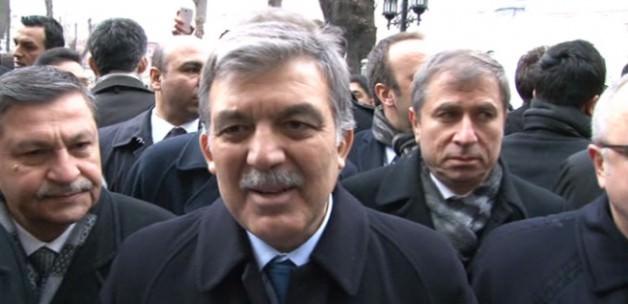 Abdullah Gül: Terörizmi kınayın