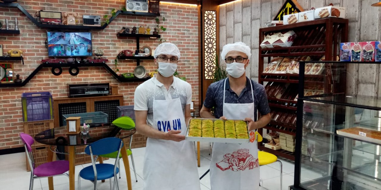 Konya pasta yapımı