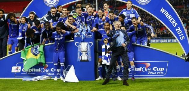 Dev kupa Chelsea'nin!
