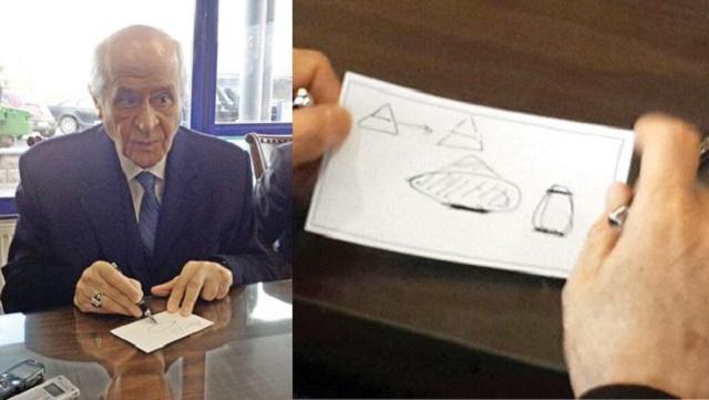 Devlet Bahçeli'den o geometrik şekillerine açıklama