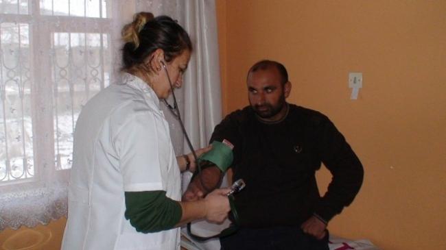 Elektriksiz sağlık ocağında sağlık hizmeti