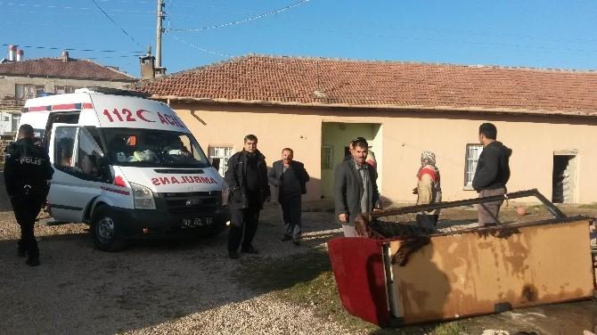 Ereğli'de 3 aylık bebek yangında ağır yaralandı