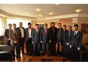 Ereğli'de AK Gençlik'ten Özgüven'e Ziyaret