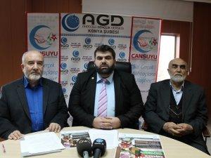 AGD ve Cansuyu'ndan mültecilere yardım kampanyası