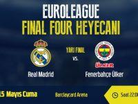 Fenerbahçe Ülker'in Euroleague Finali için rakibi Real Madrid
