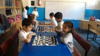 Halil Bahçeci İlkokulu'nda Satranç Kursuna Büyük İlgi!