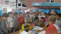 Halil Bahçeci İlkokulunda Kan Bağışı Kampanyası düzenlendi