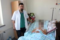 Kapalı Akciğer Ameliyatı ile hayata tutundu