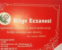 Eskillilerin  Eczanesi Bugün Konya'da  Hizmete başlıyor