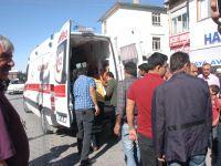 Aksaray'da Motosiklet sücüsü çarparak kaçtı