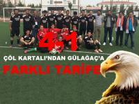 Çöl Kartalı Gülağaç Spor'a Patladı!