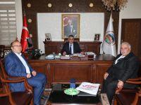 Gazetecilerden Vali Aykut Pekmez'e ziyaret
