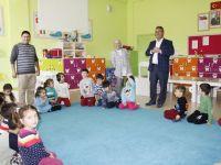 Başkan Hançerli Fetihkent Anaokulunu Ziyaret Etti