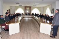 Vali Aykut Pekmez Aksaray Ticaret Borsasını ziyaret!