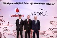 Vodafone Türkiye'den Ulusal Genişbant İçin Kesintisiz Yatırım Mesajı!