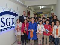 M.Timur Sarraf İlköğretim Okulu Öğrencilerinden Aksaray SGK'ya Ziyaret