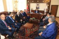 """Vali Aykut Pekmez: """"Turizmi hep beraber geliştirmeliyiz'"""