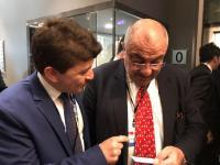 Cihangir Fikri Saatcioğlu Tuğrul Türkeş ile Özbekistan'a gidiyor
