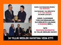 """Eskil'in Efsane Müdürü, """"34 Yıllık Meslek Yaşamına Böyle veda etti!"""""""