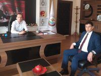 Merkez Büro Sen İl Başkanı Bolakar'dan Gülağaç Kaymakamlığına ziyaret